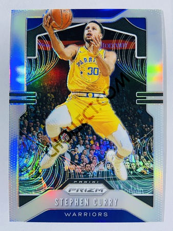 Stephen Curry - Golden State Warriors 2019-20 Panini Prizm Silver Parallel #98