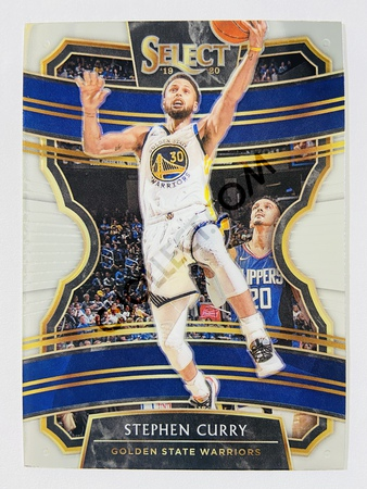 Stephen Curry - Golden State Warriors 2019-20 Panini Select Concourse #91