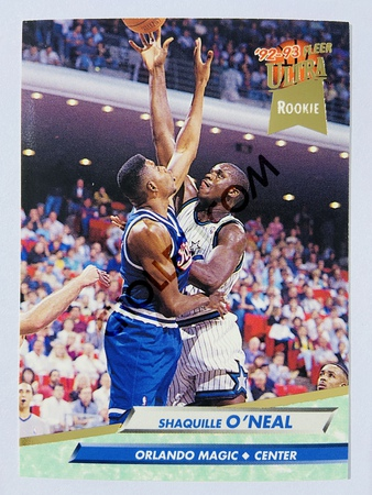 Shaquille O'Neal - Orlando Magic 1992 Fleer Ultra Rookie #328