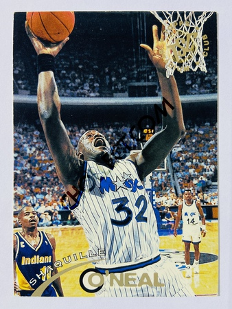 Shaquille O'Neal - Orlando Magic 1993-94 Topps Stadium Club #32