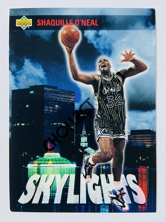 Shaquille O'Neal - Orlando Magic 1993 Upper Deck Skylights #469