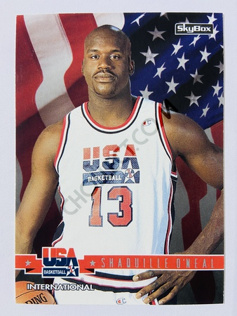 Shaquille O'Neal - Orlando Magic 1994 Skybox USA Basketball International #67