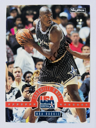 Shaquille O'Neal - Orlando Magic 1994 Skybox USA Basketball NBA Rookie #68