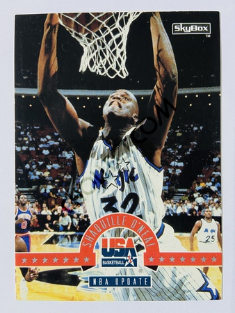 Shaquille O'Neal - Orlando Magic 1994 Skybox USA Basketball NBA Update #70