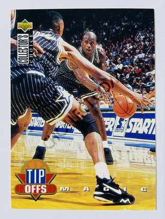 Shaquille O'Neal - Orlando Magic 1994 Upper Deck Collector's Choice Tip-Offs #184