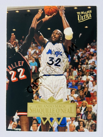 Shaquille O'Neal - Orlando Magic 1995 Fleer Ultra #126