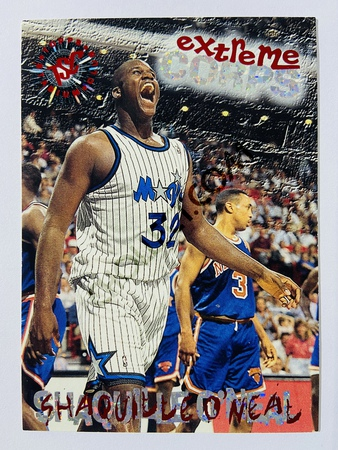 Shaquille O'Neal - Orlando Magic 1995 Topps Stadium Club Extreme Corps #119
