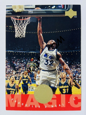 Shaquille O'Neal - Orlando Magic 1995 Upper Deck NBA All Star Second Team #173