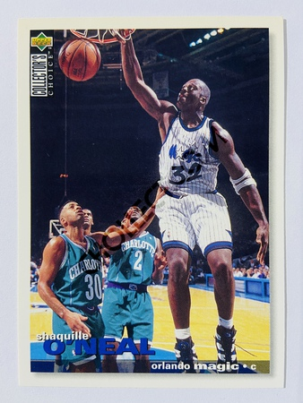Shaquille O'Neal - Orlando Magic 1995 Upper Deck Collector's Choice #286