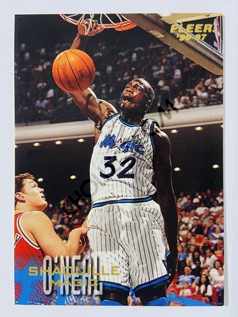 Shaquille O'Neal - Orlando Magic 1996 Fleer #79