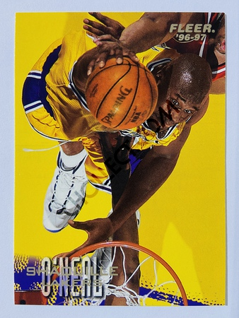 Shaquille O'Neal - Los Angeles Lakers 1996 Fleer #206