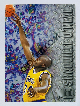 Shaquille O'Neal - Los Angeles Lakers 1996 Fleer Metal #183