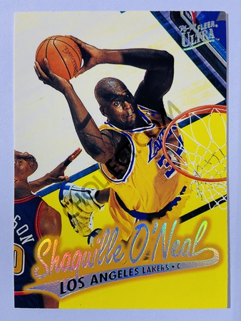 Shaquille O'Neal - Los Angeles Lakers 1996 Fleer Ultra #204