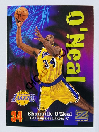 Shaquille O'Neal - Los Angeles Lakers 1997 Skybox Z-Force #34