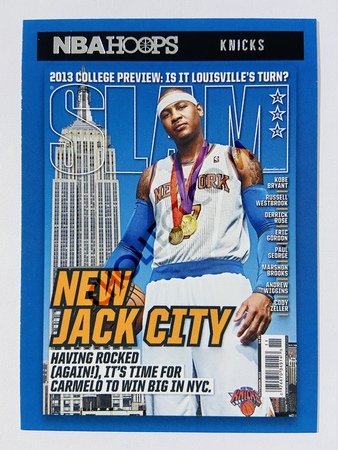 Carmelo Anthony - New York Knicks 2020-21 Panini Hoops Slam #3