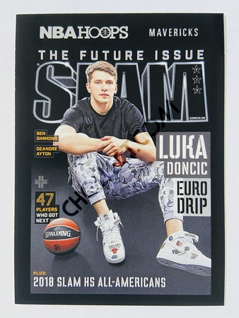 Luka Doncic - Dallas Mavericks 2020-21 Panini Hoops Slam #5