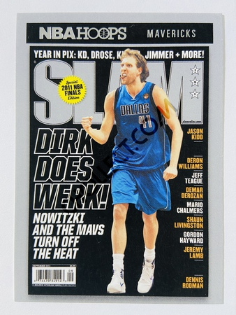 Dirk Nowitzki - Dallas Mavericks 2020-21 Panini Hoops Slam #12