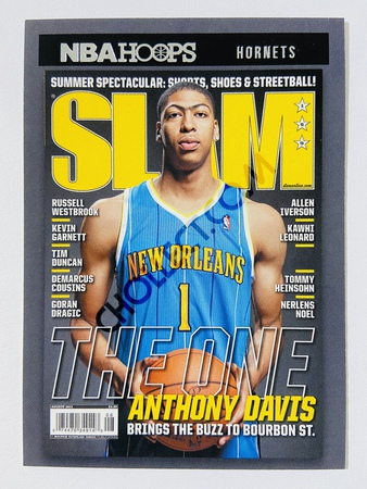 Anthony Davis - New Orleans Pelicans 2020-21 Panini Hoops Slam #15