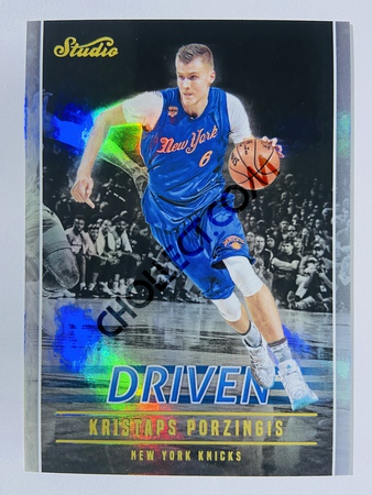 Kristaps Porzingis - New York Knicks 2016-17 Panini Studio Driven #DR-KP