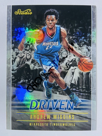 Andrew Wiggins - Minnesota Timberwolves 2016-17 Panini Studio Driven #DR-AW
