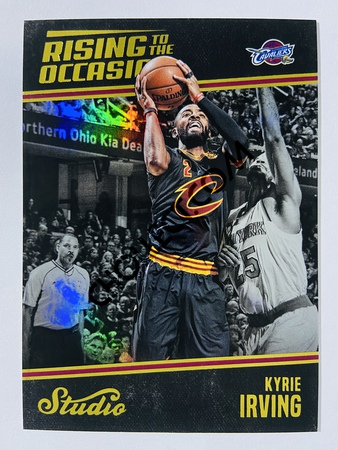 Kyrie Irving - Cleveland Cavaliers 2016-17 Panini Studio Rising to the Occasion #RO-KI