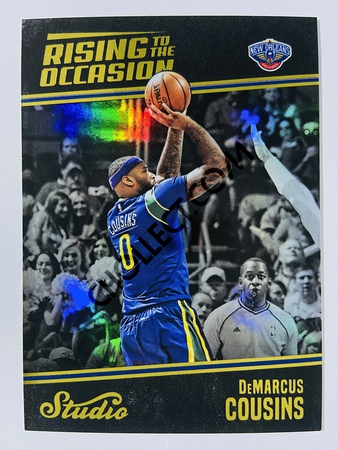 DeMarcus Cousins - New Orleans Pelicans 2016-17 Panini Studio Rising to the Occasion #RO-DC