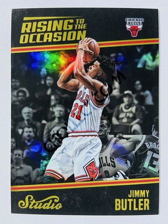 Jimmy Butler - Miami Heat 2016-17 Panini Studio Rising to the Occasion #RO-JB