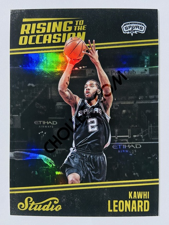 Kawhi Leonard - San Antonio Spurs 2016-17 Panini Studio Rising to the Occasion #RO-JB