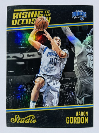 Aaron Gordon - Orlando Magic 2016-17 Panini Studio Rising to the Occasion #RO-AG