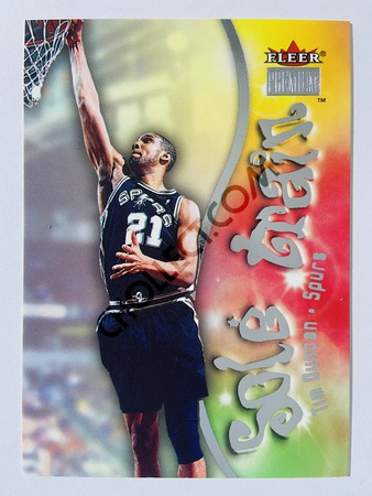 Tim Duncan - San Antonio Spurs 2000-01 Fleer Premium Sole Train #14
