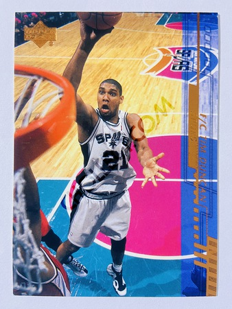 Tim Duncan - San Antonio Spurs 2000 Upper Deck #150