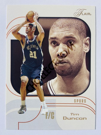 Tim Duncan - San Antonio Spurs 2002-03 Fleer Flair #31