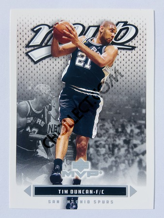 Tim Duncan - San Antonio Spurs 2003 Upper Deck MVP #161