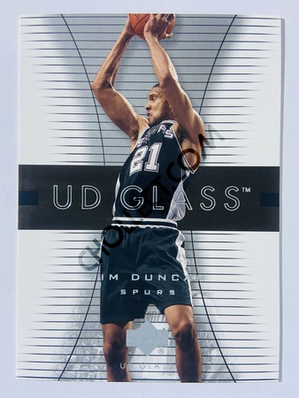 Tim Duncan - San Antonio Spurs 2004 Upper Deck UD Glass #51