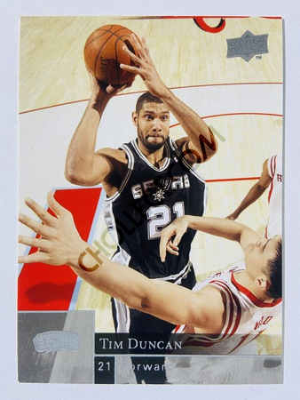 Tim Duncan - San Antonio Spurs 2009-10 Upper Deck #173