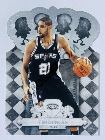 Tim Duncan - San Antonio Spurs 2010 Panini Crown Royale #33