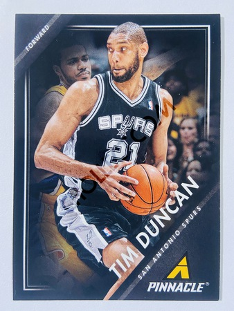 Tim Duncan - San Antonio Spurs 2013-14 Panini Pinnacle #175