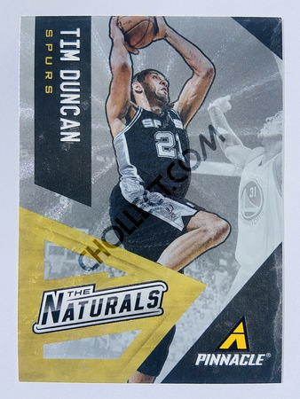 Tim Duncan - San Antonio Spurs 2013-14 Panini Pinnacle The Naturals #7
