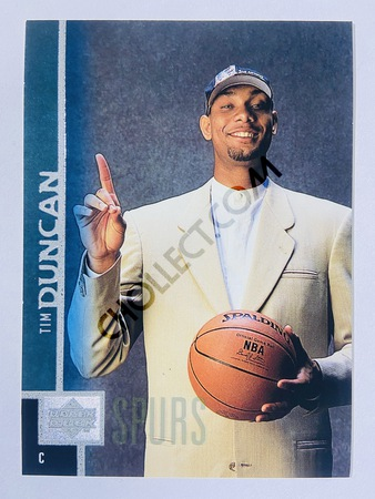 Tim Duncan - San Antonio Spurs 1997-98 Upper Deck Rookie Card #114