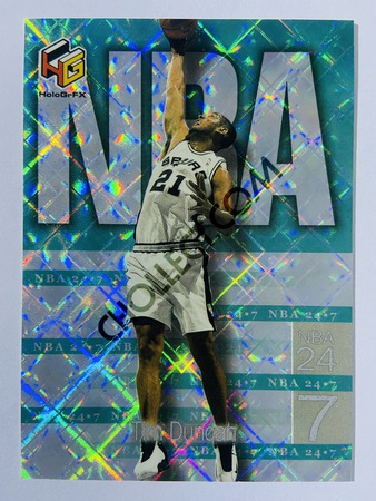 Tim Duncan - San Antonio Spurs 1999 Upper Deck HoloGrFx NBA 24-7 #N1