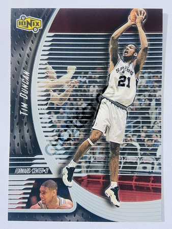 Tim Duncan - San Antonio Spurs 1999 Upper Deck Ionix #51