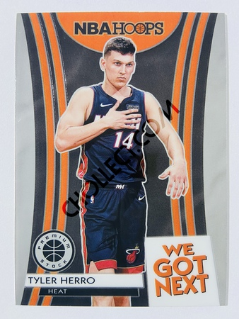 Tyler Herro - Miami Heat 2019-20 Panini Hoops Premium Stock We Got Next Insert #8