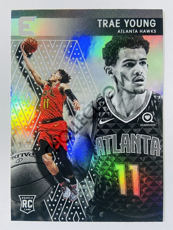 Trae Young - Atlanta Hawks 2018-19 Panini Chronicles Essentials RC Rookie Card #234