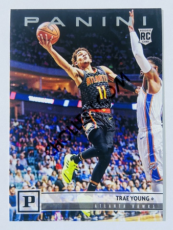 Trae Young - Atlanta Hawks 2018-19 Panini Chronicles Panini RC Rookie Card #131