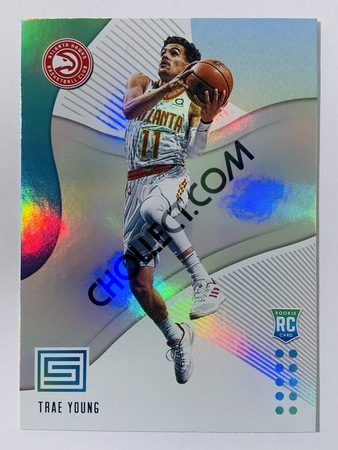 Trae Young - Atlanta Hawks 2018-19 Panini Status RC Rookie Card #142