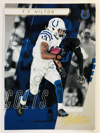 T.Y. Hilton - Indianapolis Colts Panini Absolute Football 2017-18 #2 Base Card