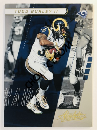 Todd Gurley II - Los Angeles Rams Panini Absolute Football 2017-18 #13 Base Card