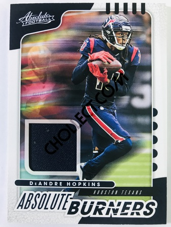 DeAndre Hopkins - Houston Texans Panini Absolute Football 2019-20 #2 Absolute Burners Insert