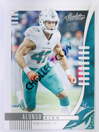 Kiko Alonso - Miami Dolphins Panini Absolute Football 2019-20 #6 Base Card
