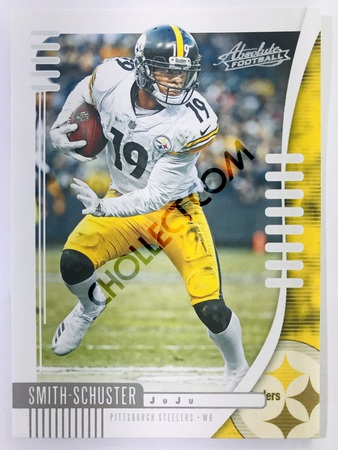 JuJu Smith-Schuster - Pittsburgh Steelers Panini Absolute Football 2019-20 #18 Base Card